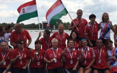 A DRAGON STEEL SE versenyzői négy arany, egy ezüst és két bronzéremmel erősítették a Magyar Sárkányhajó Szövetség válogatott csapatát